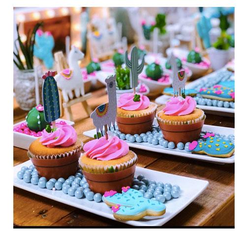 cactus cupcakes ideas