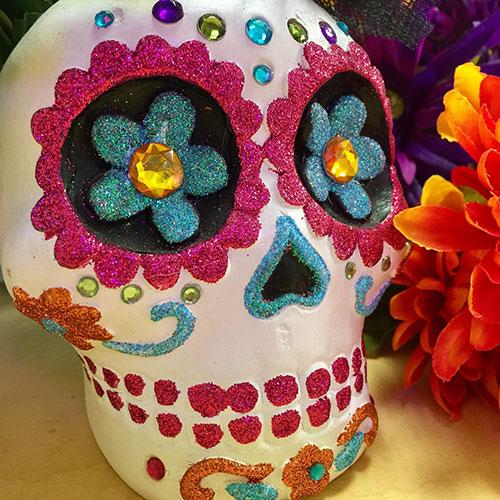 calavera sugar skull mexico celebration